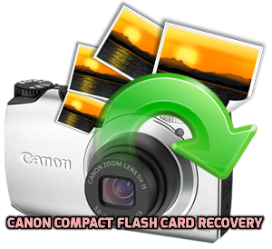 Canon Compact Flash card recovery