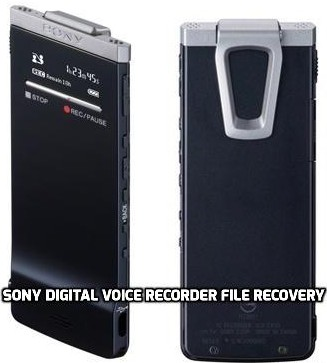 Sony ICD-TX50 Slim Digital Voice Recorder File Recovery