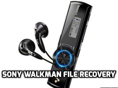 Sony Walkman file recovery