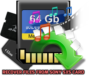 Recover Files from Sony SXS Card