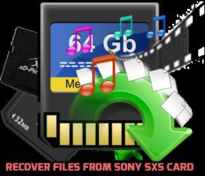Recuperar archivos de la tarjeta Sony SXS