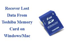 Toshiba SD Card file recovery