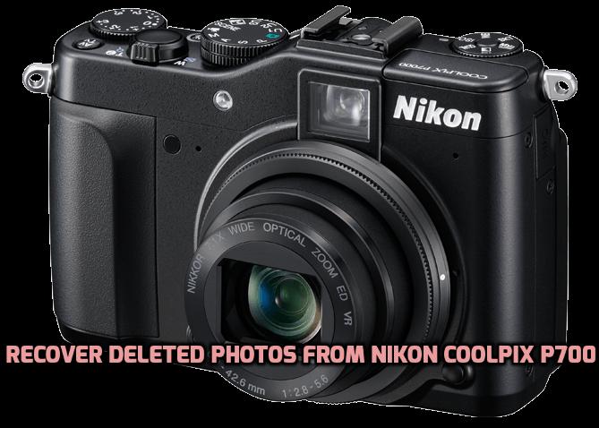 Recuperar fotos borradas de Nikon Coolpix P700