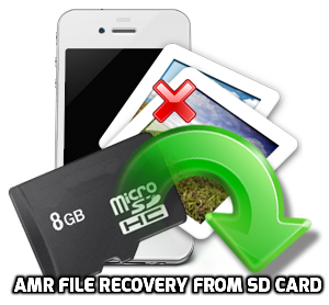 AMR file recovery from SD card