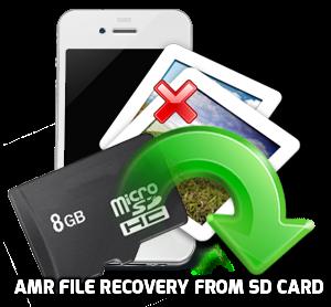 Recuperación de archivos AMR desde la tarjeta SD