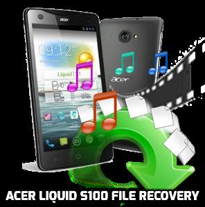 Acer Liquid S100 recuperación de archivos