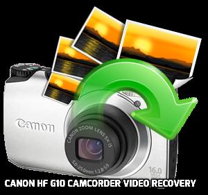 Canon HF G10 Videocámara de recuperación de vídeo