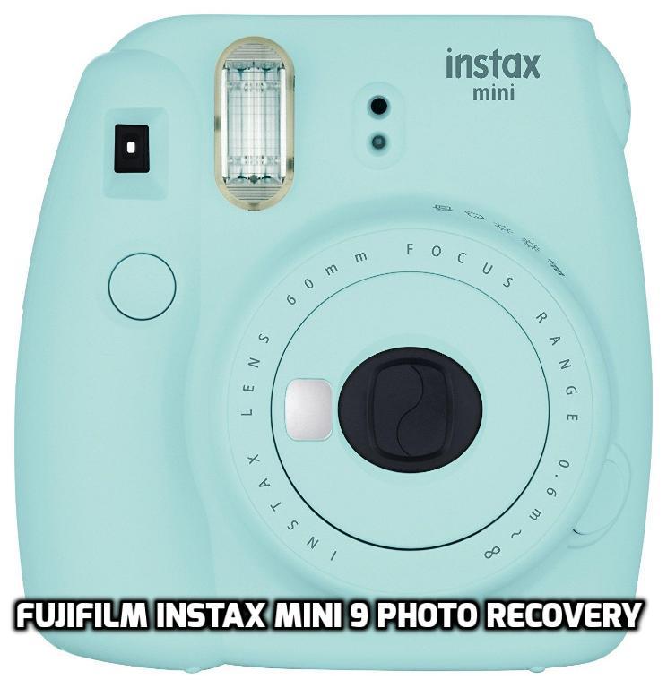 Fujifilm Instax Mini 9 recuperación de fotos