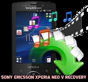 Sony Ericsson Xperia Neo V recovery