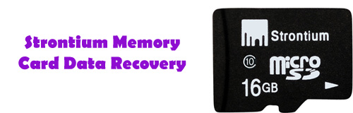 Recover Data from Strontium MicroSDHC Card