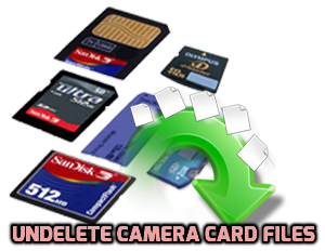 undelete camera card files