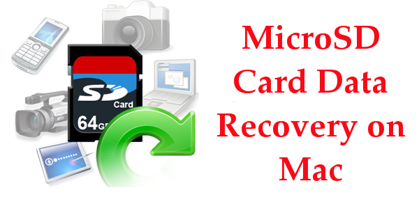 Recuperación de datos de la tarjeta MicroSD en Mac