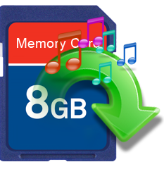 music recovery from memory card