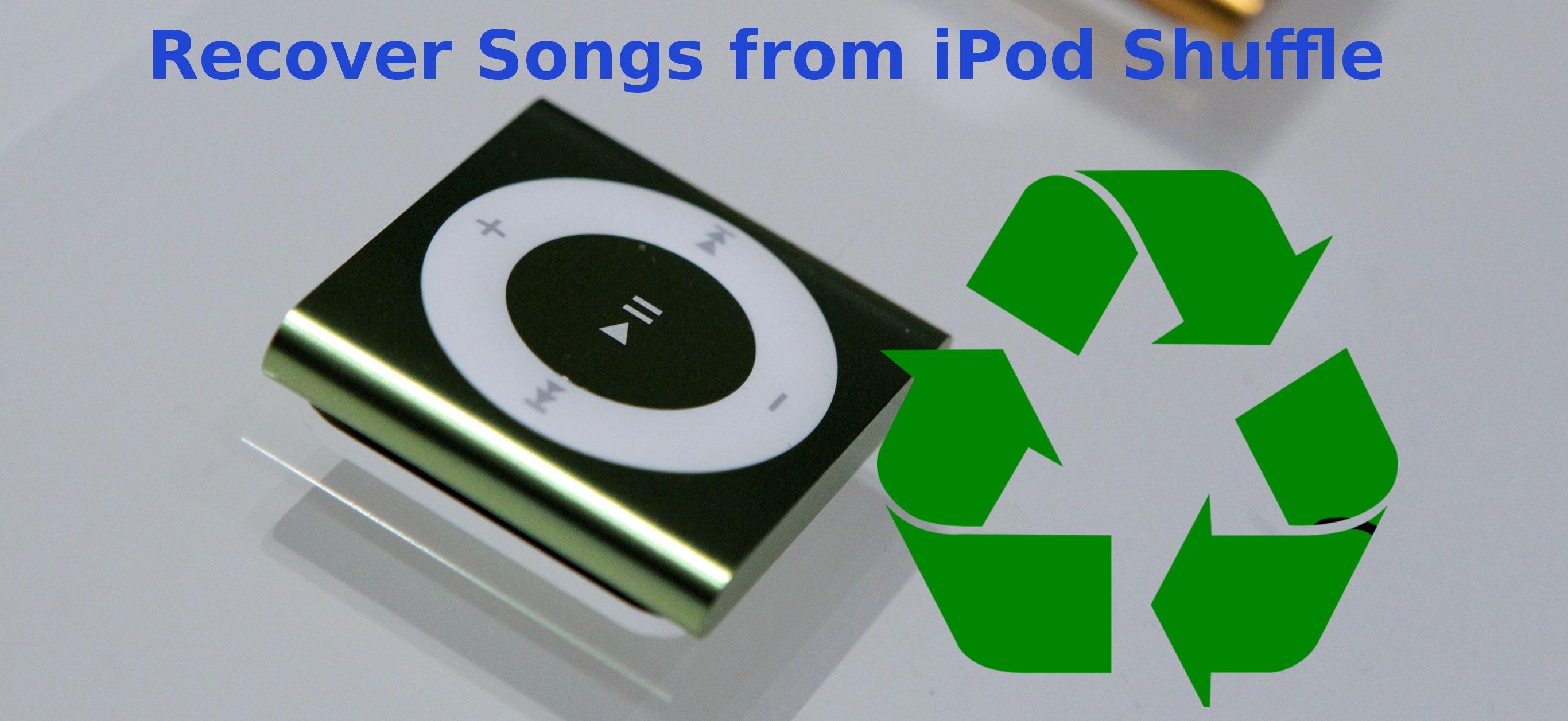 Recuperar canciones del iPod Shuffle