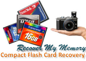 corrupted Compact Flash Card recovery