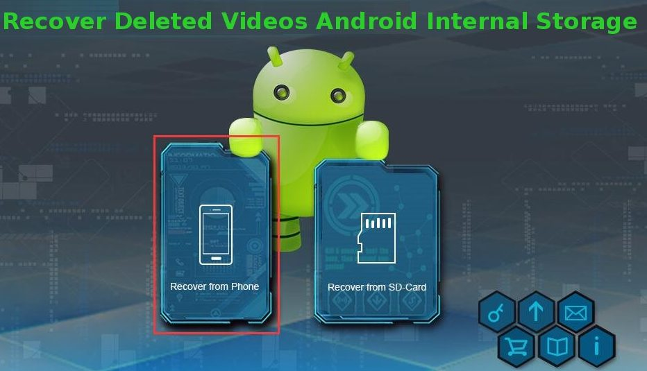 Know How To Recover Deleted Videos Android Internal Storage