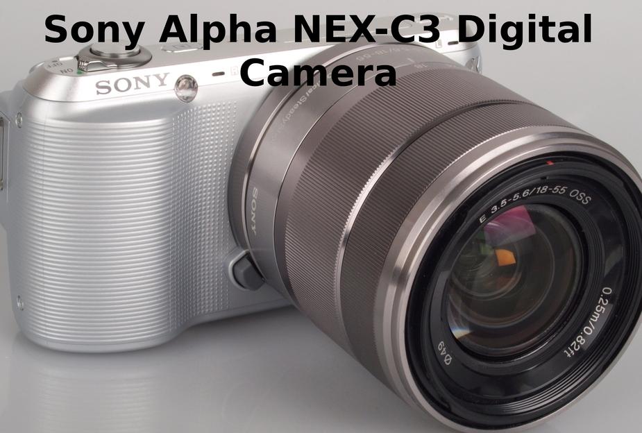 camera numérique sony