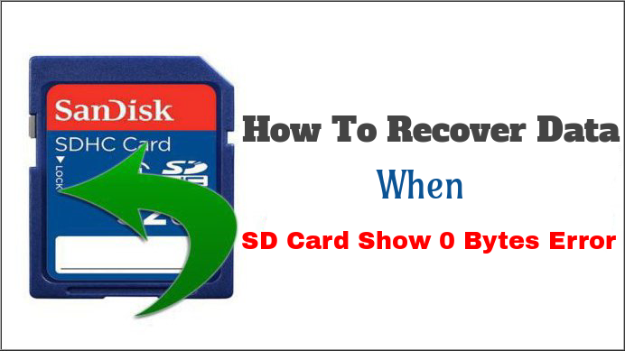 fix SD Card Show 0 Bytes Error