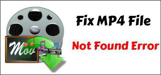 MP4 File Not Found Error