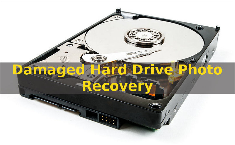 retrieve pictures from damaged hard drive