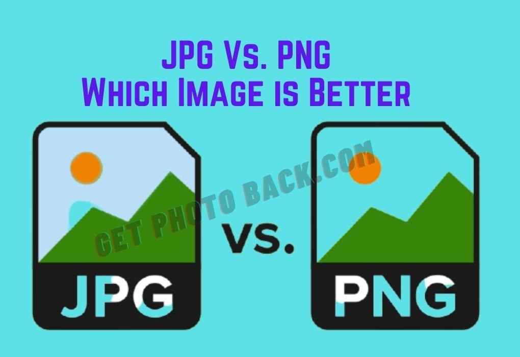 JPG Vs PNG: Quel est le meilleur
