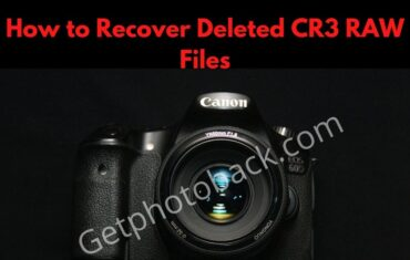 How to Recover Deleted CR3 RAW Files