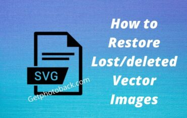 How to Restore Lostdeleted Vector Images